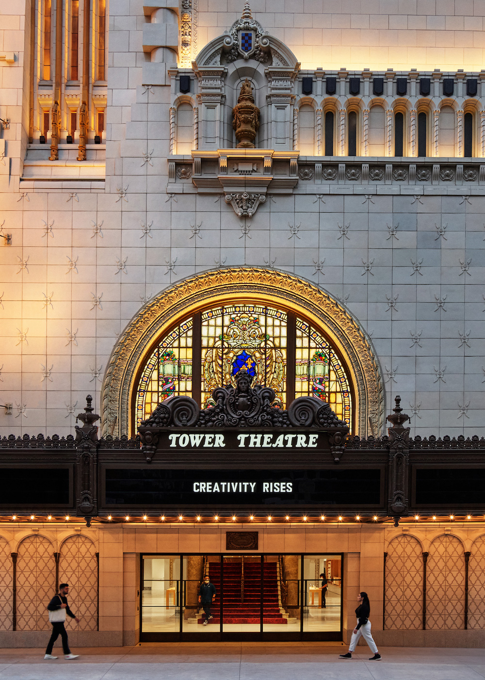 apple nso tower theater la front exterior 06222021