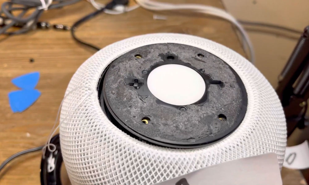 audioOS 15 overheating damaged homepod
