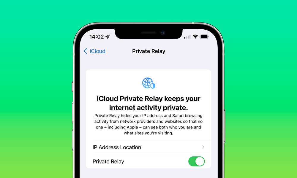 iOS 15 iCloud Private Relay Settings on iPhone