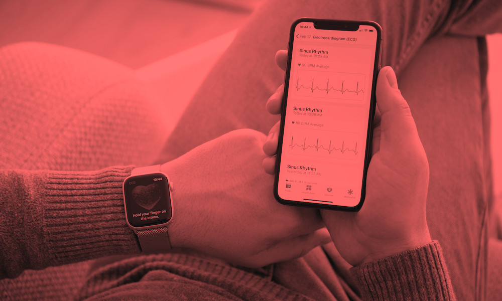 iPhone and Apple Watch Health Stats and ECG