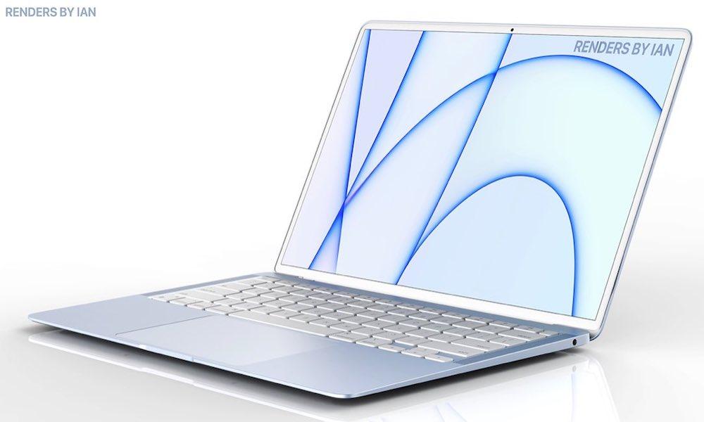 New MacBook Air Concept Render 2022