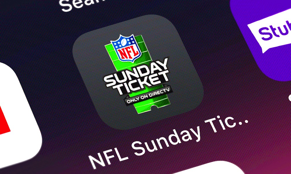 NFL Sunday Ticket App on iPhone