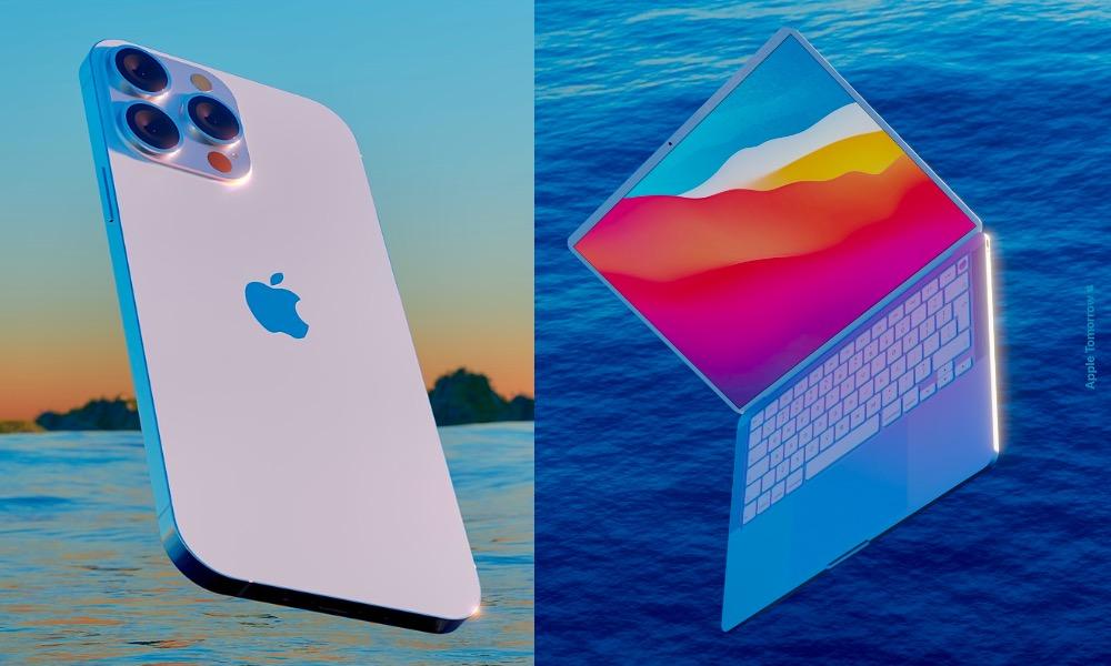 iPhone 13 and MacBook Air