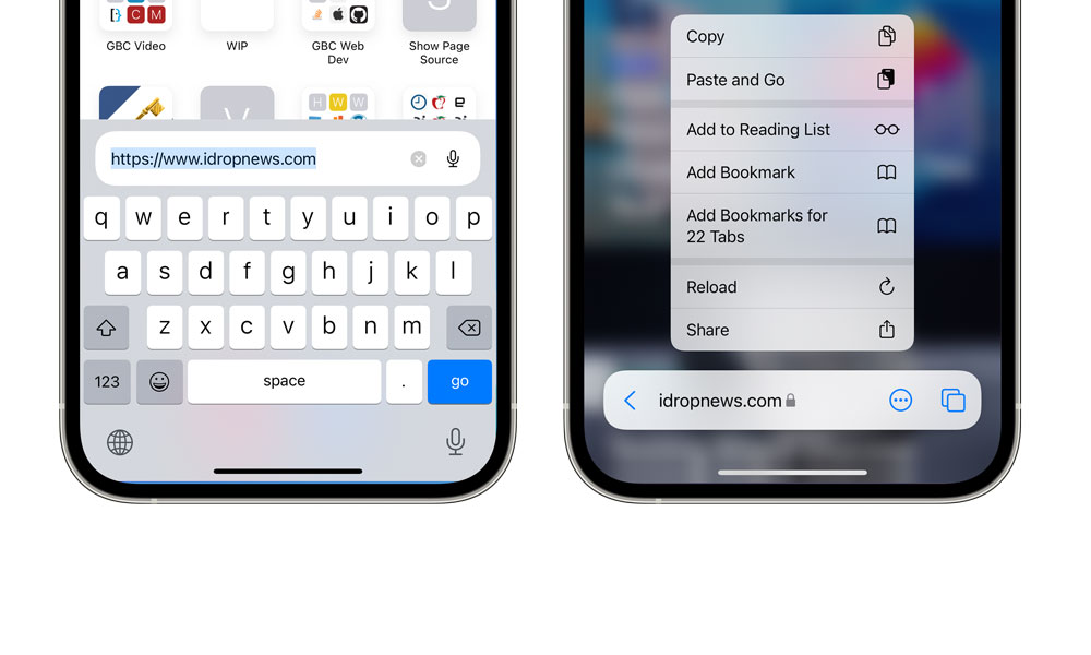 iOS 15 beta 3 Safari changes