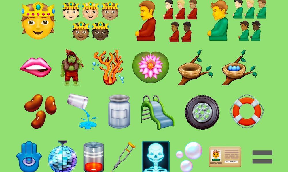 List of New Emojis 20211