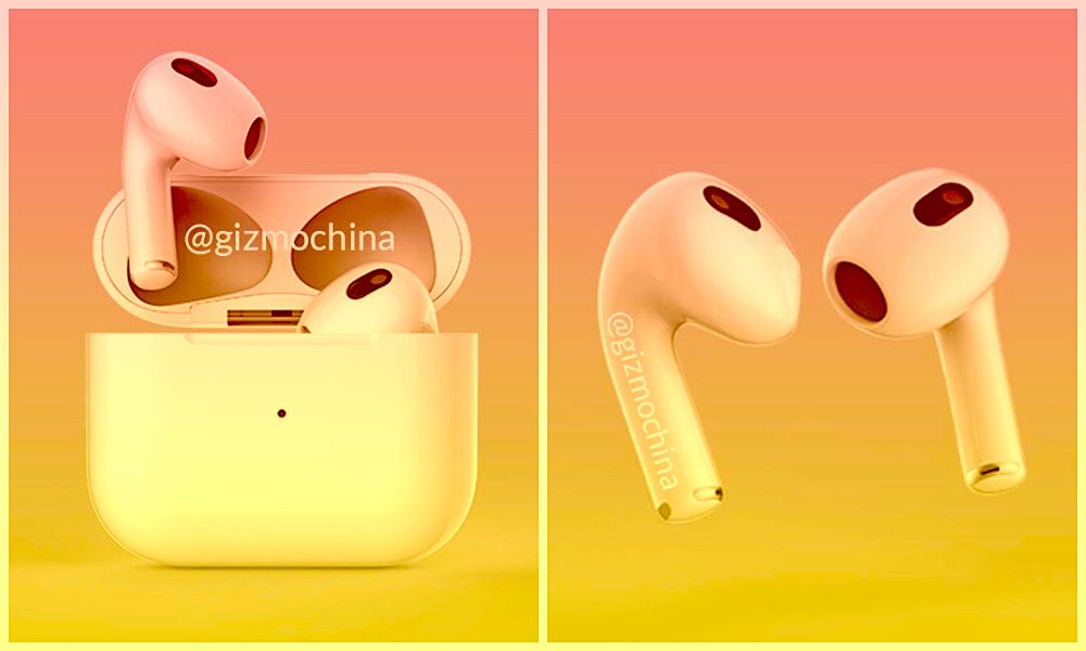 Apple AirPods 3 Concept Render