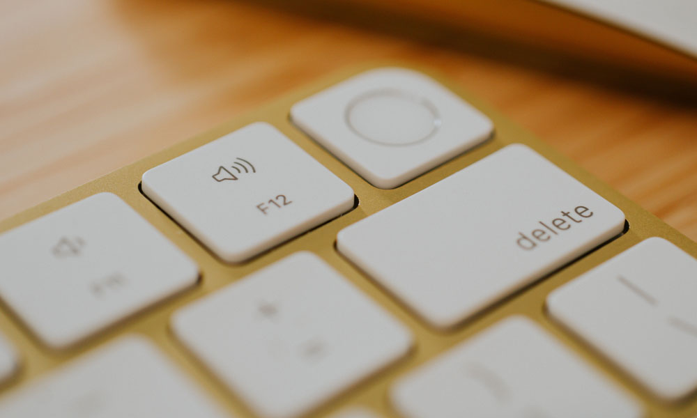 Apple Magic Keyboard with Touch ID closeup