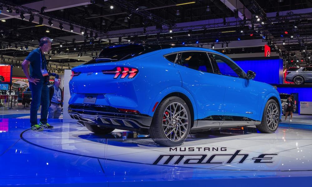 Mustang Mach E Electric Car