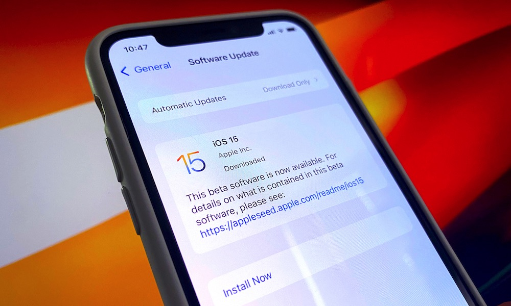 Download iOS 15 on iPhone