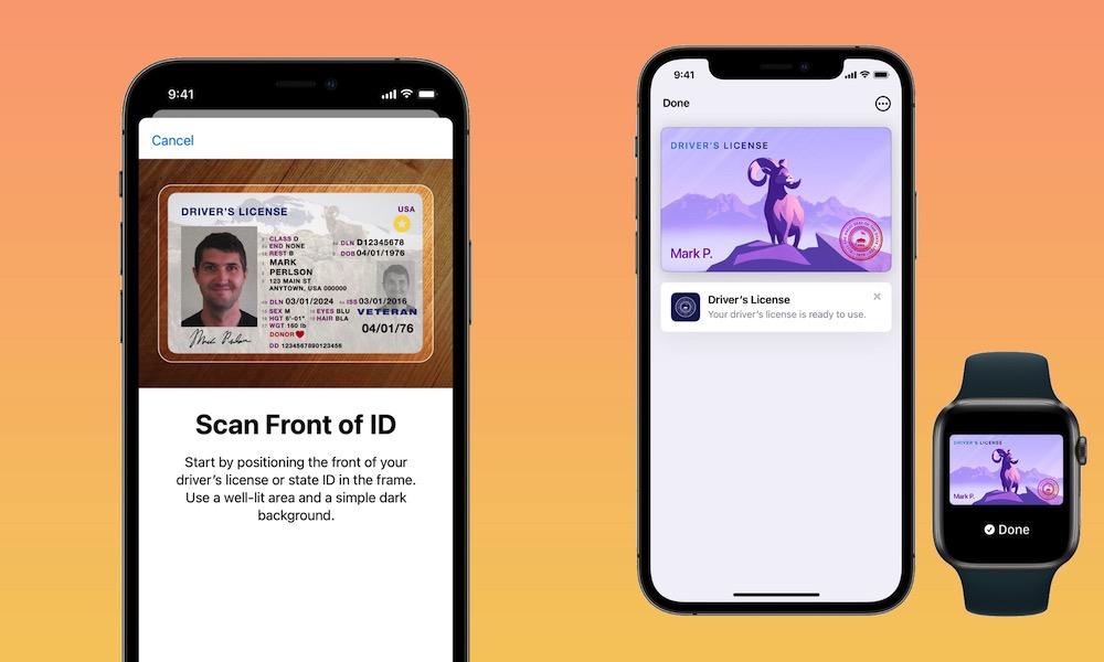 Digital ID in Apple Wallet