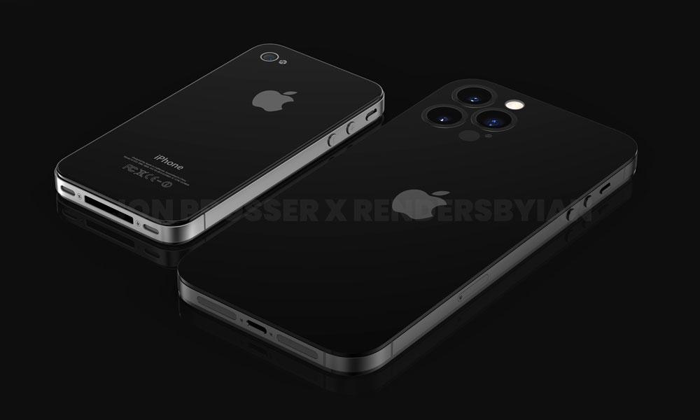 FPT iPhone 14 vs iPhone 4