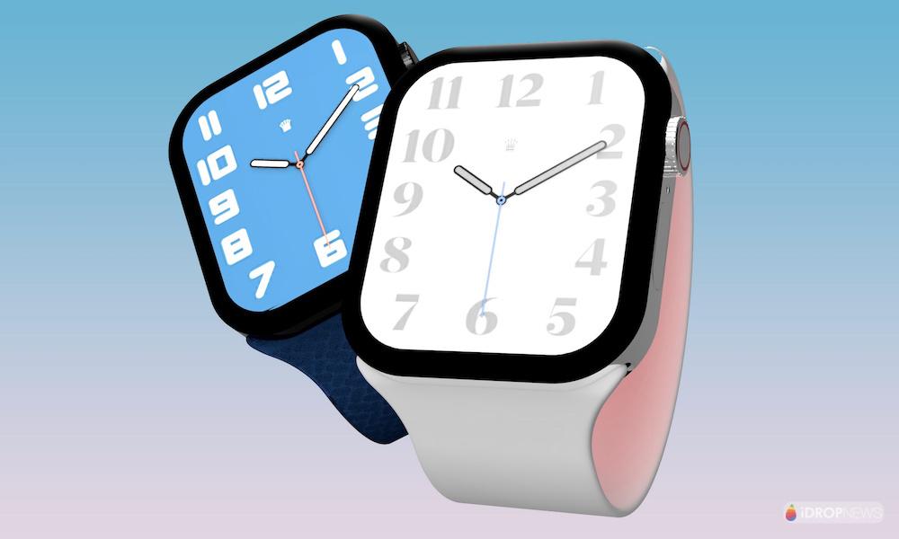 Apple Watch Series 7 Concept Render 2021