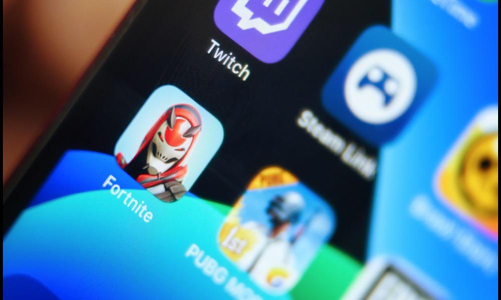 Fortnite App on iPhone