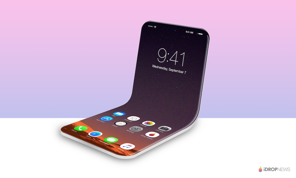 Foldable iPhone Concept Render