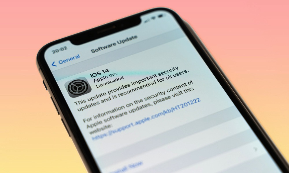 iOS 14 Software Update