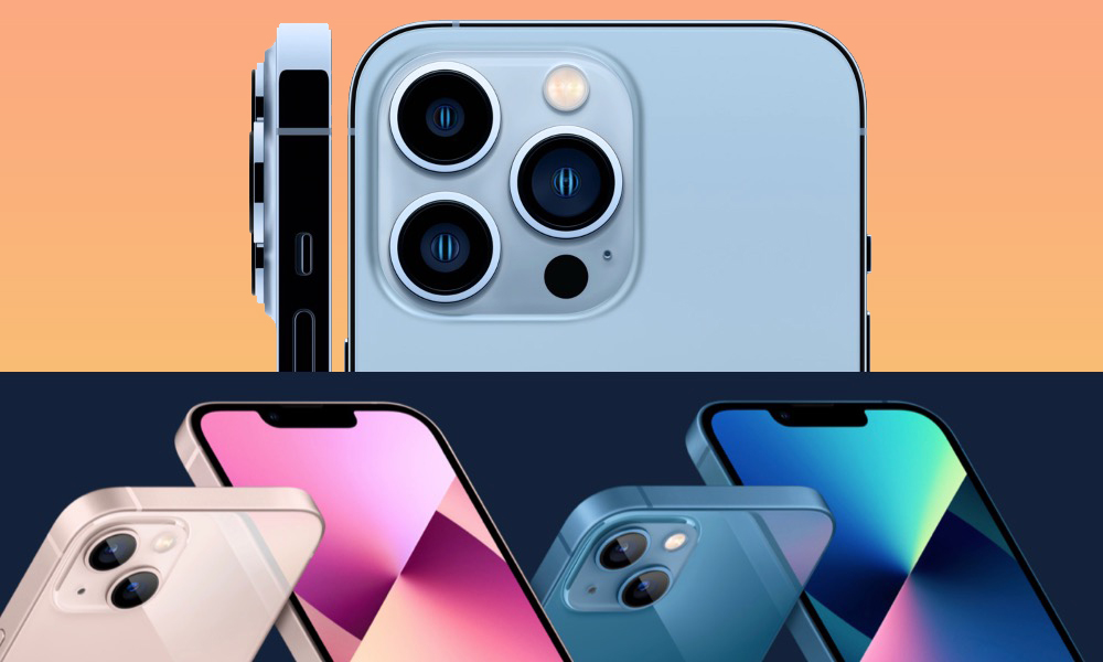 Compare All iPhones 2021 iPhone 13 Pro