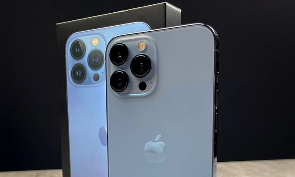 iPhone 13 Pro Sierra Blue