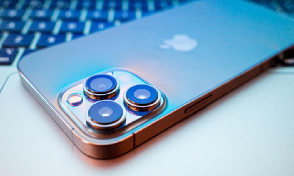 iPhone 13 Pro Max camera array bump