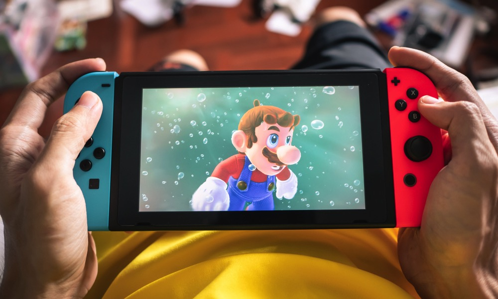 Apple Nintendo Switch Style Gaming Console in the Works