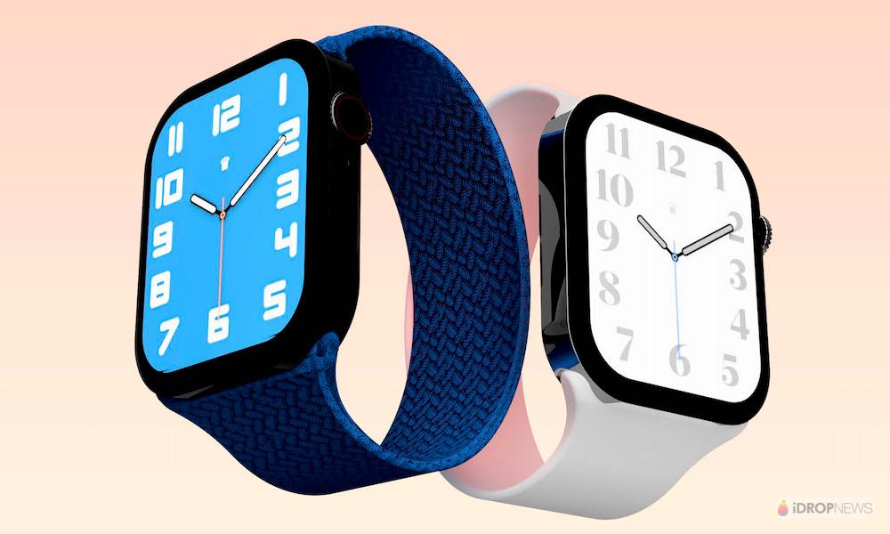 Apple Watch Series 8 Concept Render iDrop News
